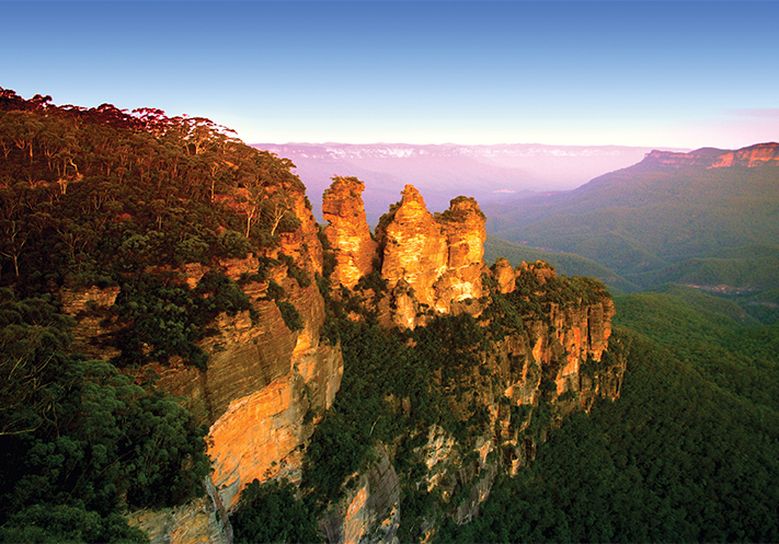du-lịch-úc-The Blue Mountains National Park is a national park in New South Wales, Australia